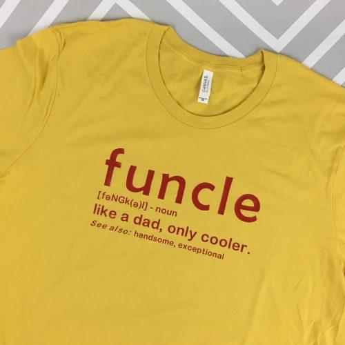 funcle shirt