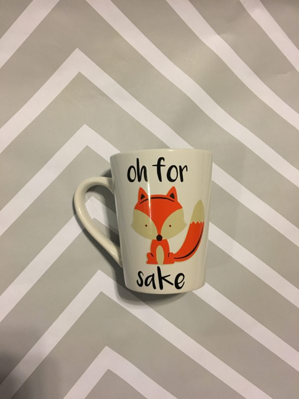 Quirky Coffee Cups - Oh For Fox Sake Coffee Cup