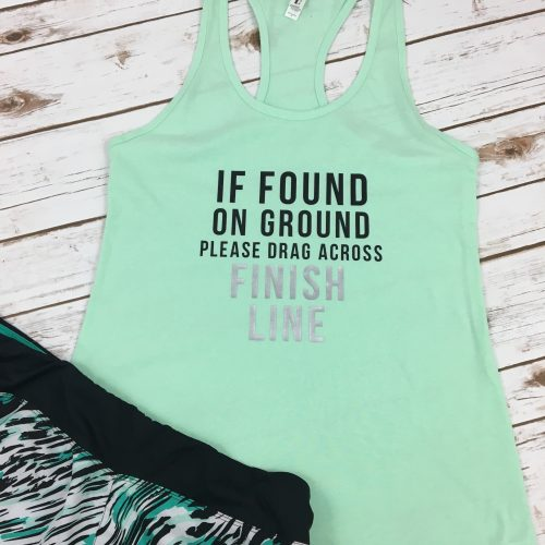 If Found on Ground Finish Line