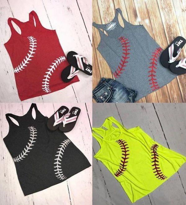 softball baseball tank