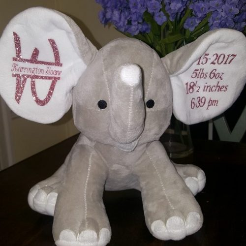 big ear customizable elephant