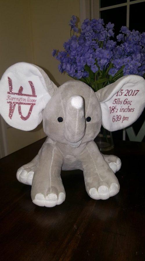 big ear customizable elephant