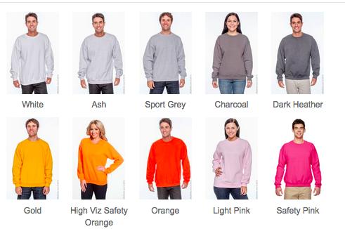 Gildan sweatshirt
