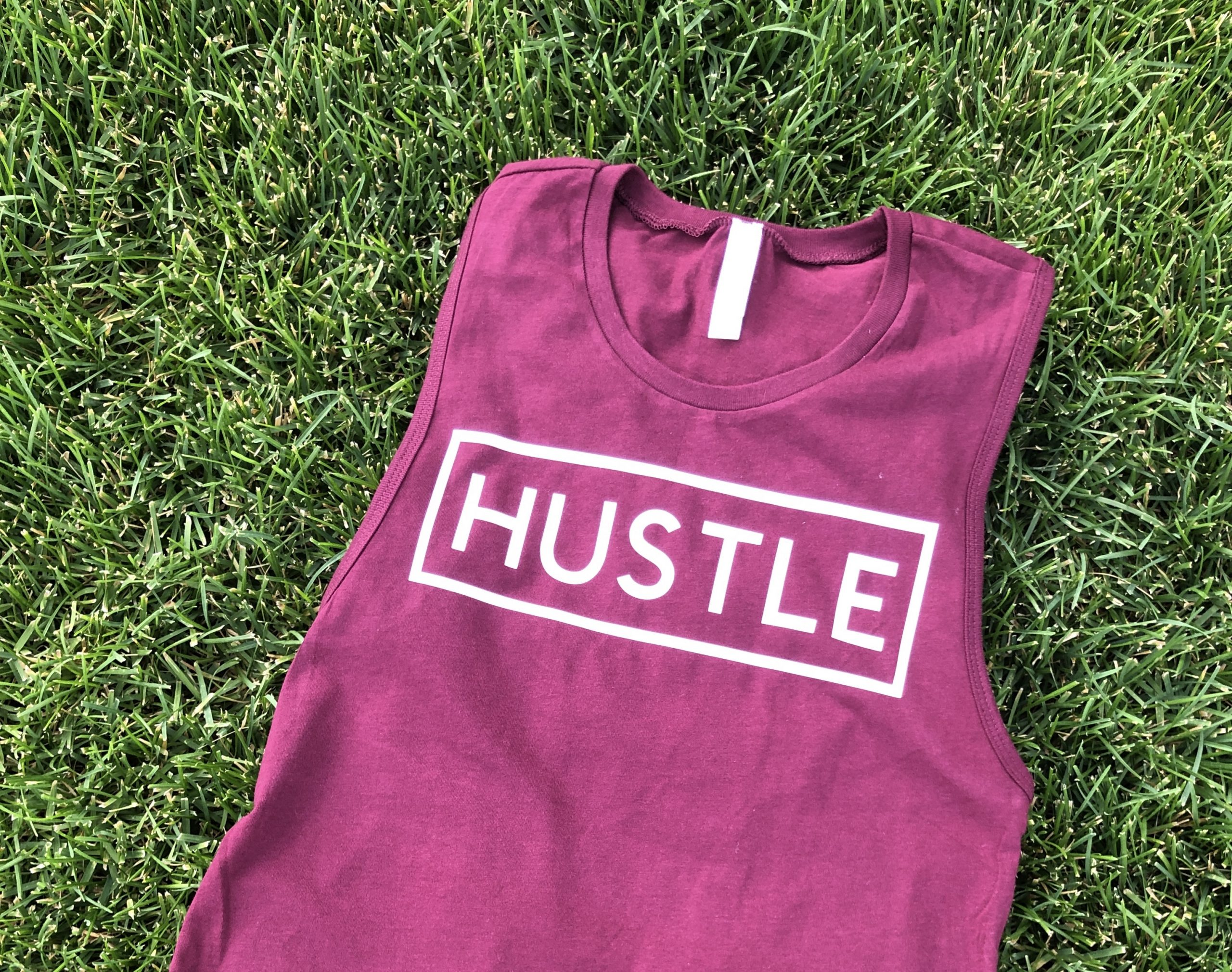 hustle muscle tank