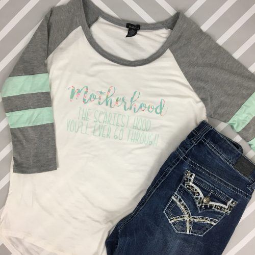 Motherhood raglan