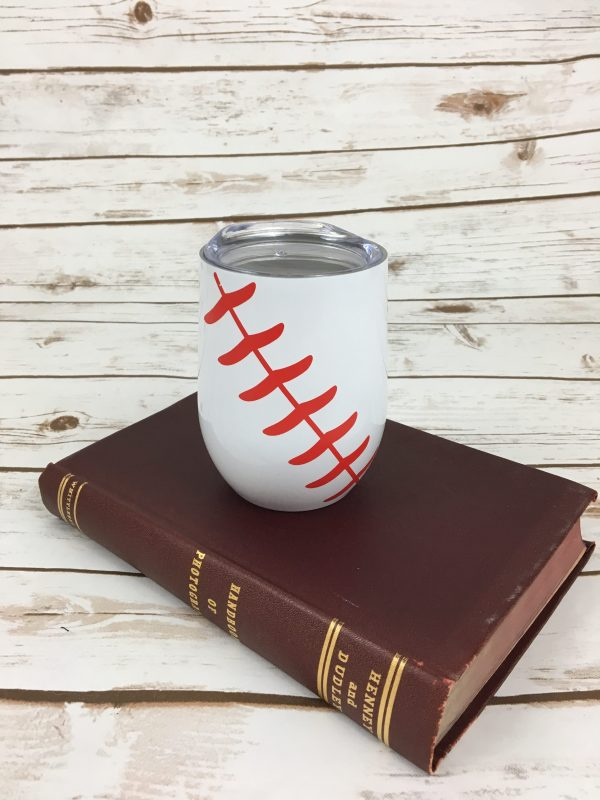 Stainless Steel Tumblers - Stainless Steel Baseball Sports Tumbler