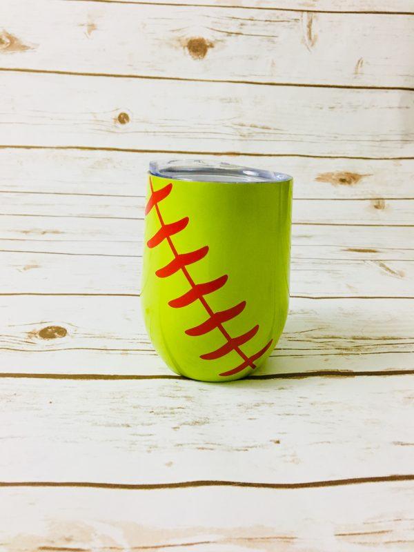 Stainless Steel Tumblers - Stainless Steel Baseball Sports Tumbler