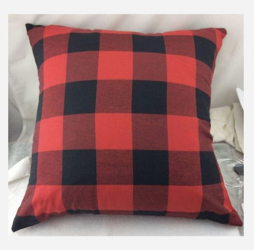 Buffalo Plaid pillowcase